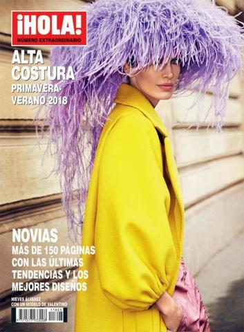 Журнал мод. ¡HOLA! ALTA COSTURA весна-лето 2018 г.