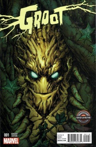 Groot #1 (Gamestop exclusive cover)