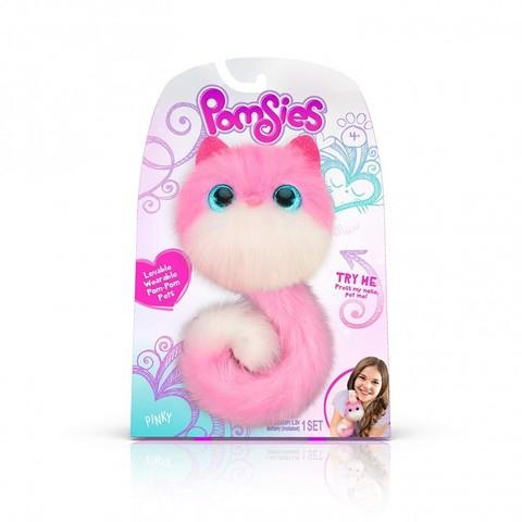 Pomsies Pinky,  котенок Помси бело-розовый уценка