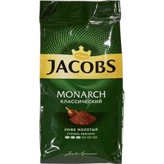 Кофе Jacobs Monarch молотый 230г пакет
