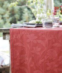 Дорожка на стол Proflax Fleur 50х160 малиновая
