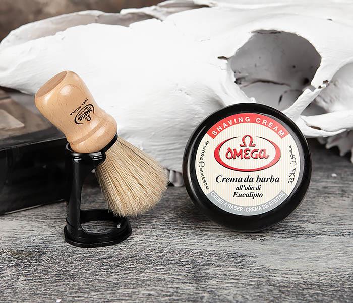 RAZ59.80005 Набор для бритья, помазок и крем фото 05