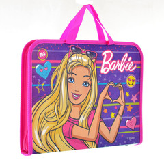 Папка-Qovluq plastik qulplu A4+ Barbie 491405 YES