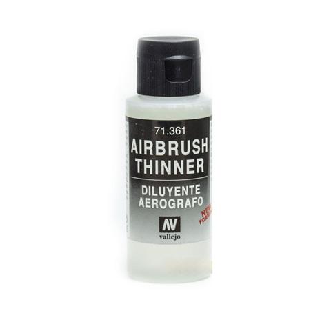 71361 Airbrush Thinner Разбавитель Красок для Аэрографа, 60 мл Acrylicos Vallejo