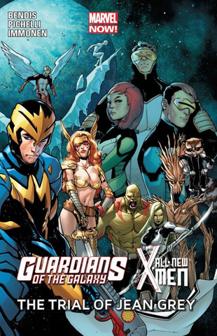 Guardians of the Galaxy/All-New X-Men Trial of Jean Grey TPB