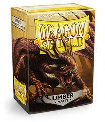 Dragon Shield - Темно-коричневые матовые протекторы 100 штук