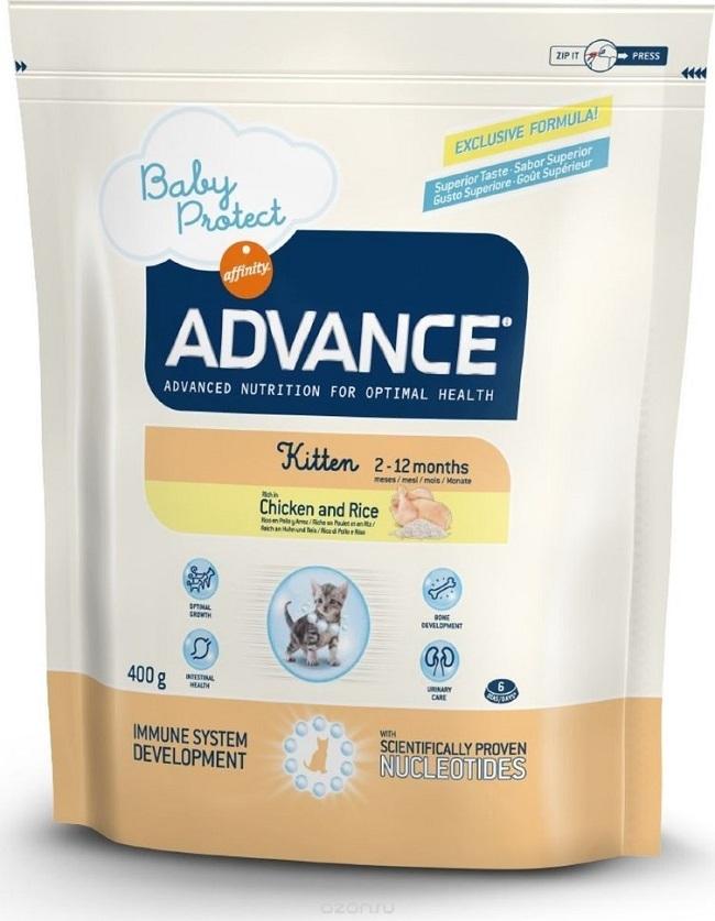 Сухой корм Корм для котят, Advance Baby Protect Kitten, с курицей и рисом 530211.jpg