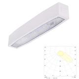 Светильник аварийного освещения больших помещений с высокими потолками с асимметричным светораспределением Suprema LED SСHA NT IP54 Intelight