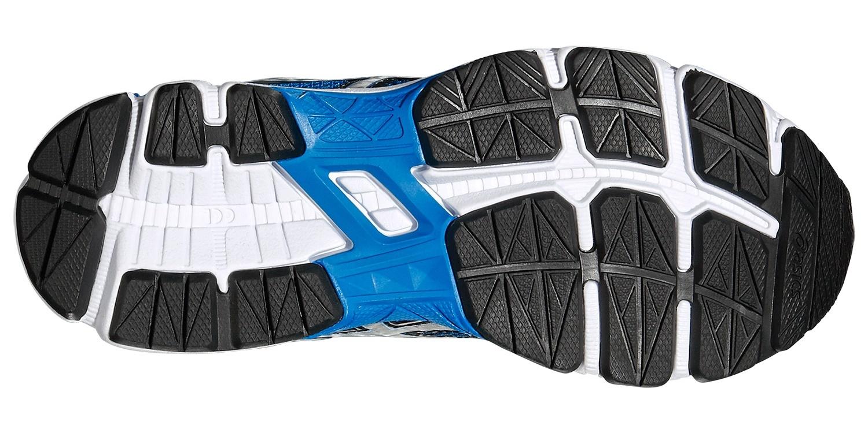Детские-подростковые кроссовки для бега Asics GT-1000 4 GS (C558N 3993) синие фото