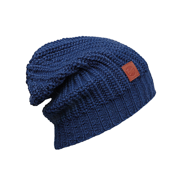Длинная вязаная шапка Buff Gribling Blue Limoges