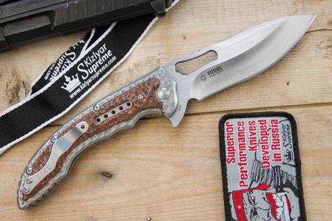 Складной нож CRKT Ikoma Fossil 5470