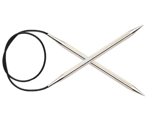Спицы KnitPro Nova Cubics круговые 6 мм/40 см 12161