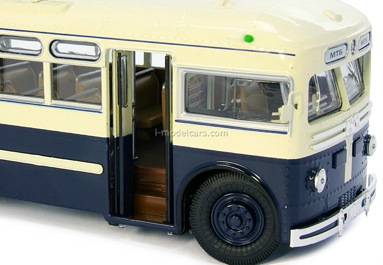 Trolleybus MTB-82D beige-blue Ultra Models 1:43
