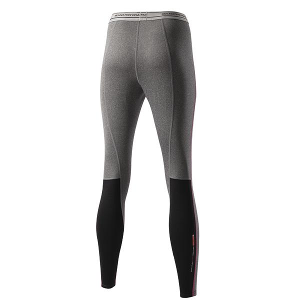 Термокальсоны Mizuno WooL Long Tight женские grey back