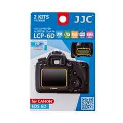Набор защитных пленок JJC 2в1 для Canon 6D