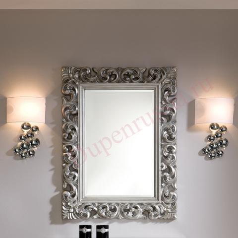 Зеркало DUPEN PU049 серебро (90*120)