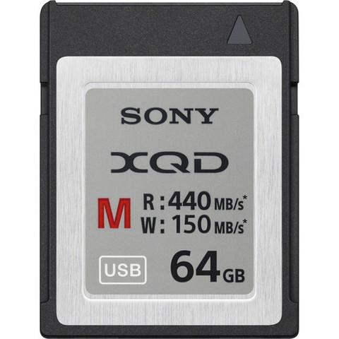 Карта памяти Sony QDM64-P M series XQD 64Gb (440/150 MB/s)
