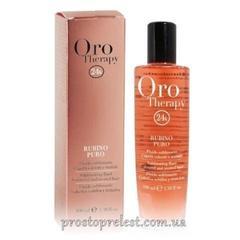 Fanola Oro Therapy Diamante Puro - Жидкие кристаллы «РУБИН» для окрашенных волос