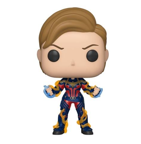 Фигурка Funko POP! Bobble: Marvel: Avengers Endgame: Captain Marvel w/New Hair 45143