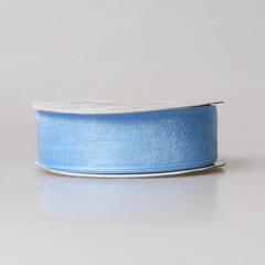 Лента органза OR-20 голубая