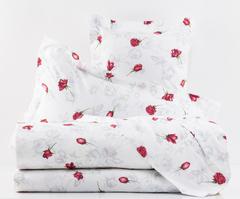 Постельное белье 1.5 спальное Mirabello Baccarat белое
