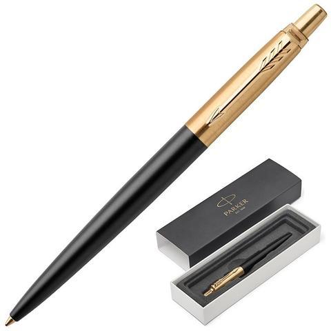 1953202 Parker Jotter Bond Street Black GT Шариковая ручка