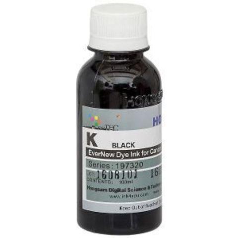 Чернила DCtec серии 197320 - Black (фото чёрный) 100 мл