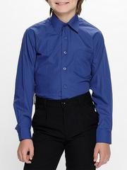 TH37 рубашка для мальчиков, синяя