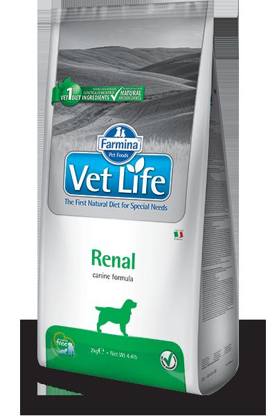 Сухой корм Корм для собак FARMINA Vet Life RENAL при заболеваниях почек farmina-vet-life-canine-renal_web.png