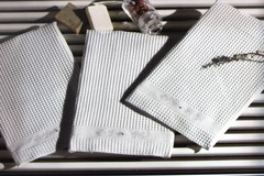 Набор полотенец  3 предмета  BRISE APE - БРИС АПЭ / Maison Dor (Турция)