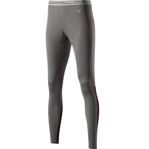 Термокальсоны Mizuno WooL Long Tight женские grey