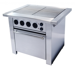 Плита электрическая  (с духовкой),  Ф4ПДКЭ/900, 1047х850х860, 4 эл/конфорки  ( 18 кВт 380 В ).