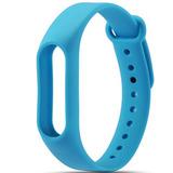 Цветные браслеты для фитнес-трекера Smart Band 2 (Голубой)
