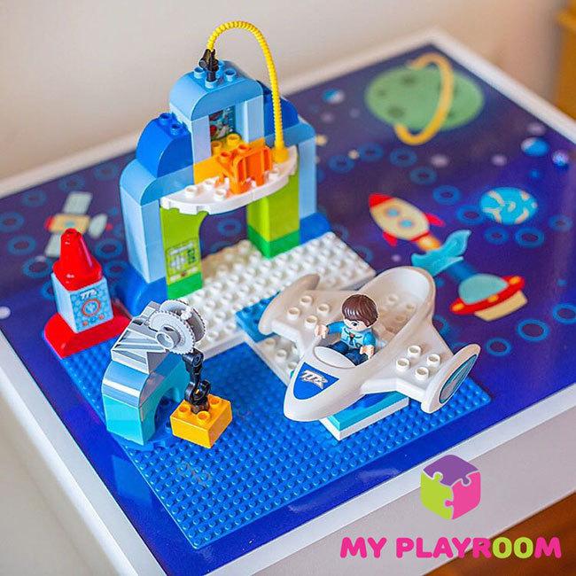 Lego крышка для стола песочницы Myplayroom