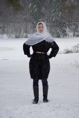 Оренбургский пуховый платок 69 фото 2