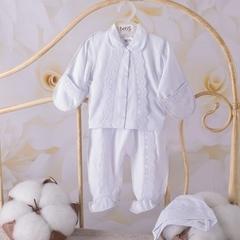 Костюмчик для новорожденных Сонечко белый
