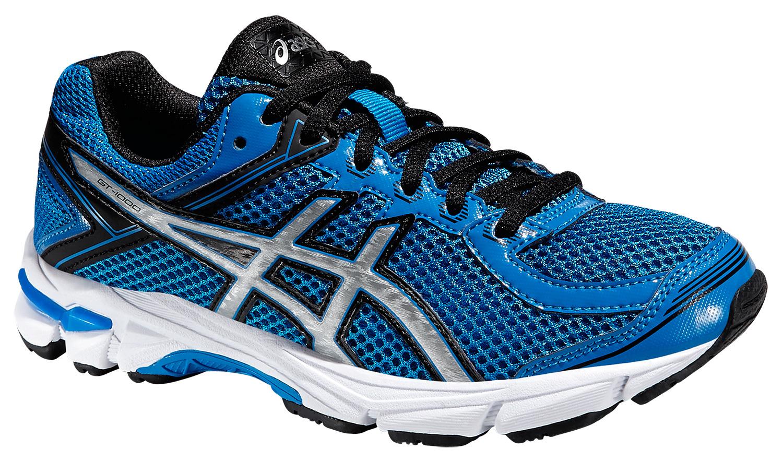Детские-подростковые кроссовки для бега Asics GT-1000 4 GS (C558N 3993) синие