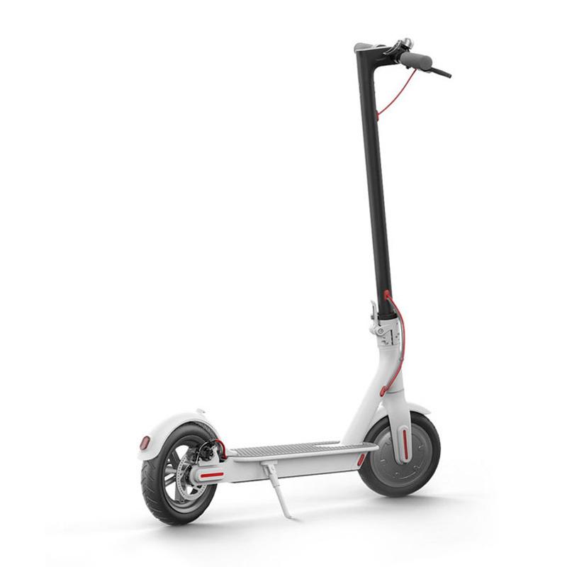 Электросамокат Xiaomi Mijia Electric Scooter белый - Электросамокат взрослый, артикул: 864716