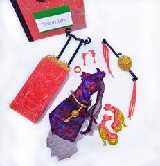 Набор одежды и аксессуаров для куклы Джинафайер Лонг Скариж