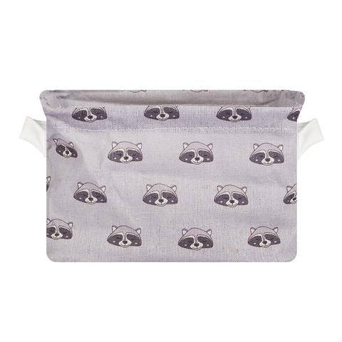 Корзина Racoon Grey текстил.