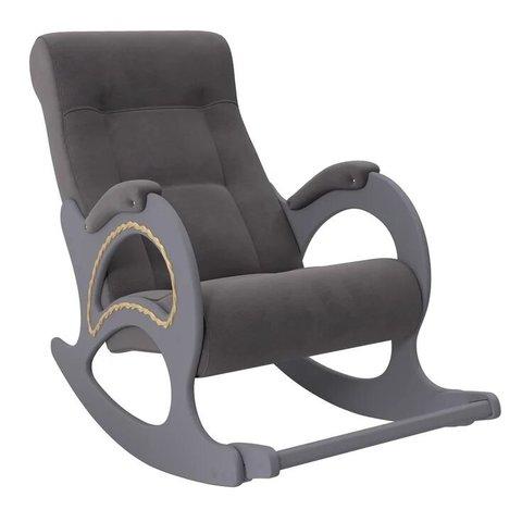 Кресло-качалка Комфорт Модель 44 маренго/Verona Antrazite Grey, 013.044