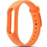Цветные браслеты для фитнес-трекера Smart Band 2 (Оранжевый)