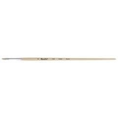 Кисть Roubloff Серия 1632 щетина овальная, длинная ручка, лаковое покрытие