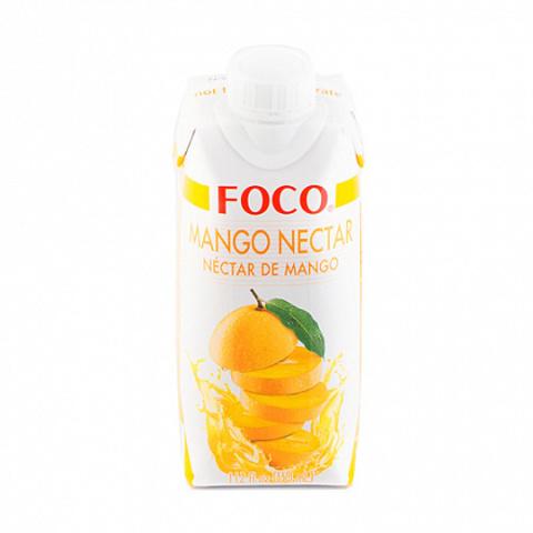 Нектар манго, FOCO, 330 мл