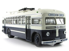 Trolleybus MTB-82D beige-blue Ultra Models 1:43