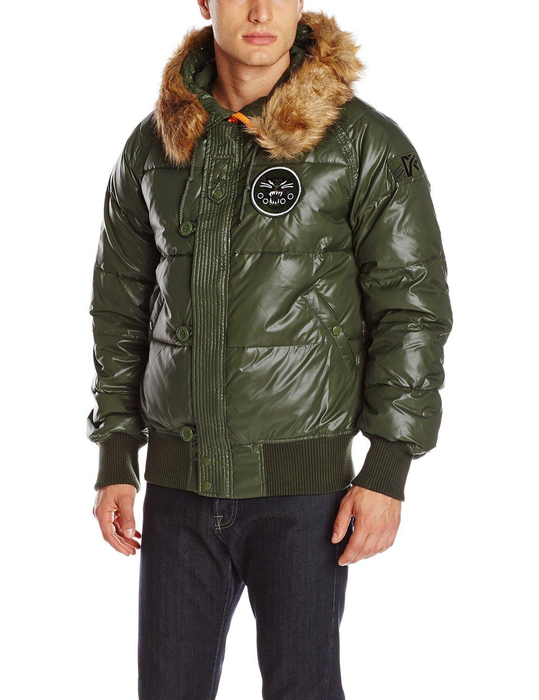 Куртка Мужская Alpha N-2B Sonic Parka (оливковая - green)