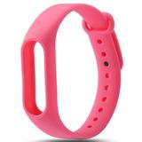 Цветные браслеты для фитнес-трекера Smart Band 2 (Розовый)
