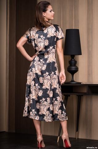 Сорочка женская шелковая Mia-Amore  Golden Flower 3308