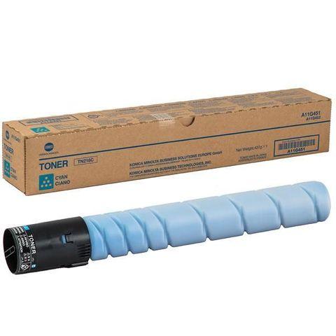 Тонер TN-221C для Konica Minolta bizhub C227, синий. Ресурс 21 000 стр. (A8K3450)