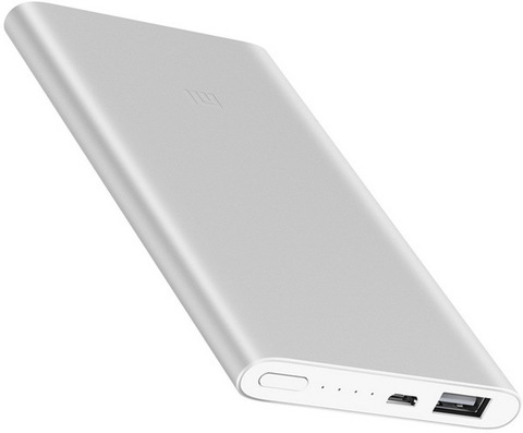 Power Bank Xiaomi Mi Power 2, 5000mAh silver (ORIGINAL)